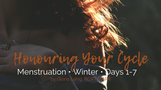 HONOURING YOUR CYCLE: Menstruation • Winter • Days 1-7